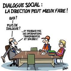 dialogue social peut mieux faire