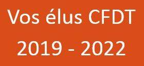 Vos élus CFDT 2019-2021
