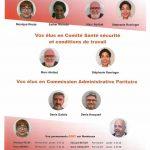 présentation des élus CFDT à Bordeaux