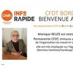 Monique Reuzé Elue au CLU-B