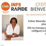 Présentation élue ESTHER MVONDO